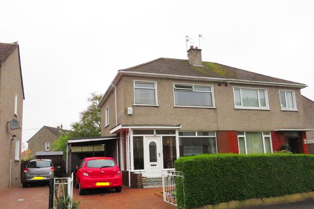 Thumbnail Semi-detached house for sale in Belvidere Crescent, Bishopbriggs, Glasgow
