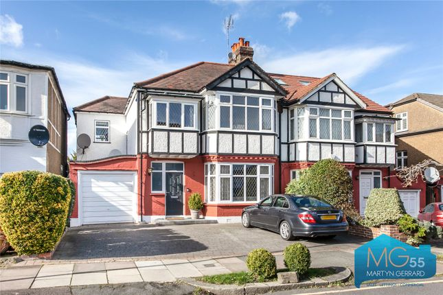 Thumbnail Semi-detached house for sale in Wynchgate, Southgate, London