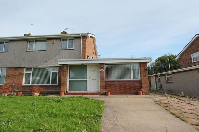 Thumbnail Semi-detached house for sale in Kennedy Rise, Barry