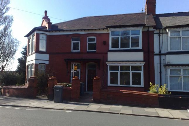 Thumbnail Flat to rent in Breck Road, Wallasey, Wirral