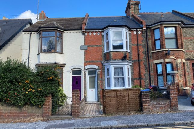 Thumbnail Terraced house to rent in Margate Road, Ramsgate
