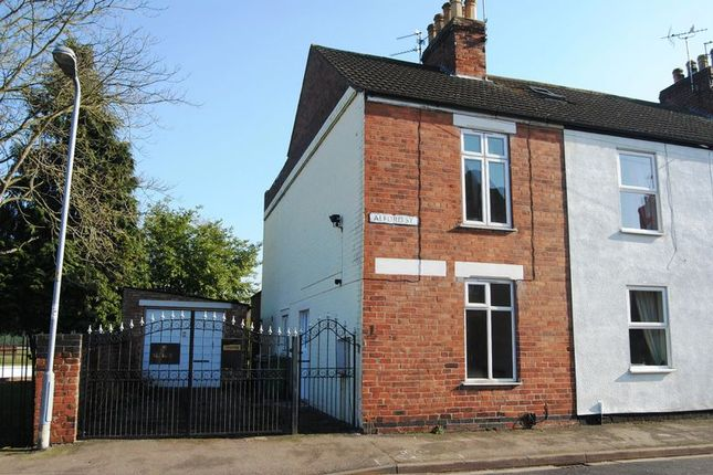 Thumbnail End terrace house to rent in Alford Street, Grantham