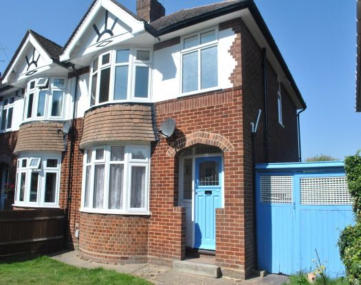 Thumbnail Semi-detached house to rent in Canesworde Road, Dunstable