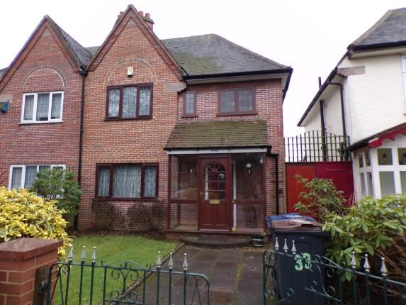 Thumbnail Semi-detached house for sale in Jaffray Road, Birmingham, West Midlands