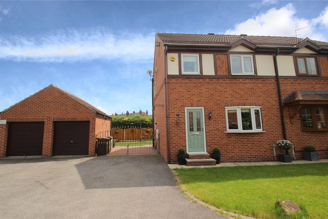 Semi-detached house for sale in Tudor Court, South Elmsall, Pontefract