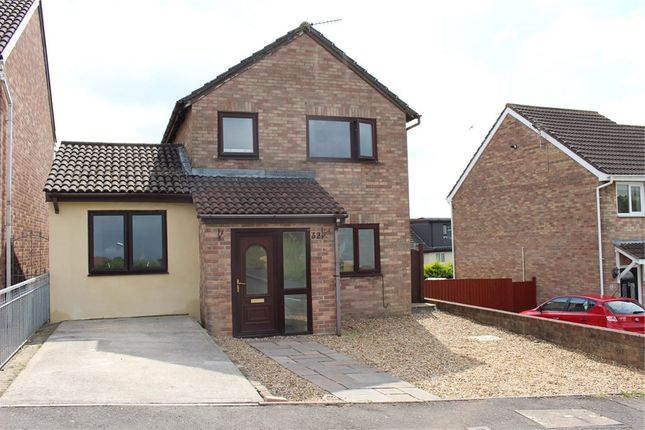 Thumbnail Detached house for sale in Heol Yr Eglwys, Bryncethin, Bridgend