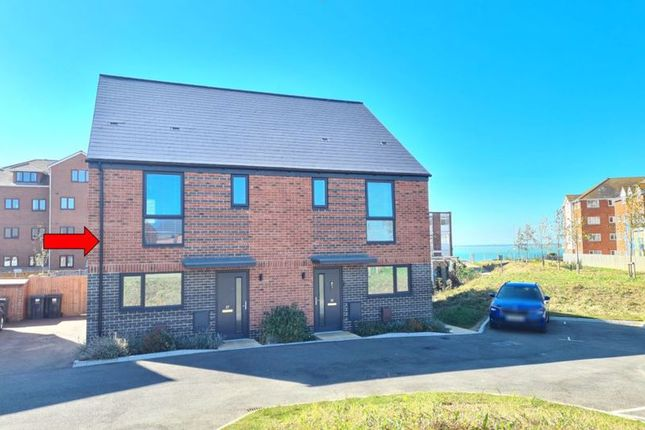 Thumbnail Semi-detached house for sale in Ocean Road, Lee-On-The-Solent