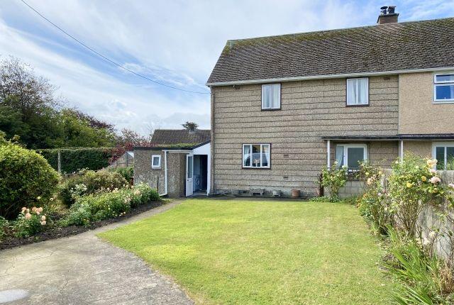Thumbnail Semi-detached house for sale in Croftlands, Rock, Wadebridge