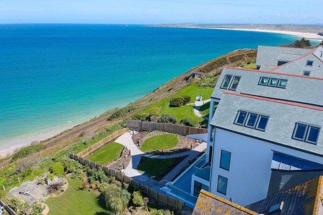 Thumbnail Flat for sale in Monowai Apartments, Carbis Bay, St Ives, Cornwall