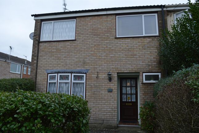 Thumbnail End terrace house for sale in Higham Green, King's Lynn