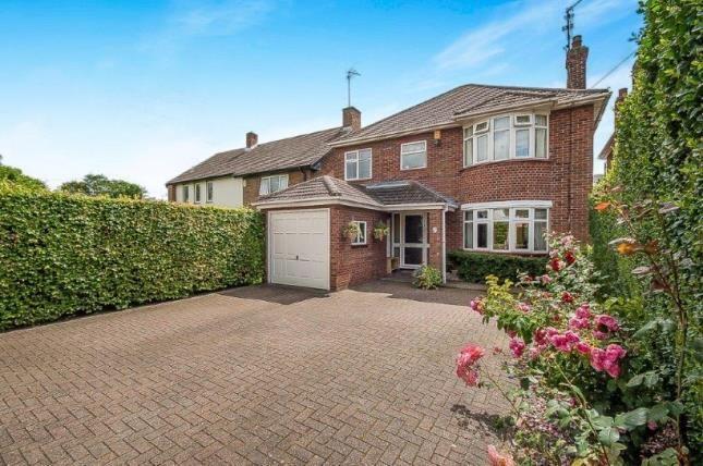 Thumbnail Detached house for sale in Oundle Road, Orton Longeville, Peterborough, Cambridgeshire