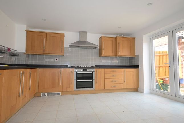 Thumbnail Detached house to rent in Spire Close, Basingstoke