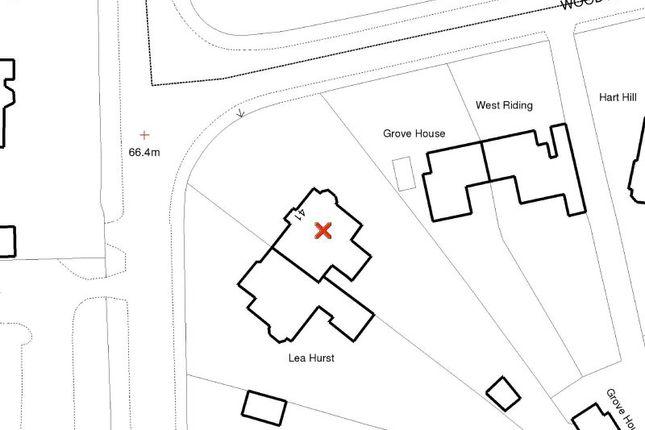 Site Plan of St. Margarets Road, Bowdon, Altrincham WA14