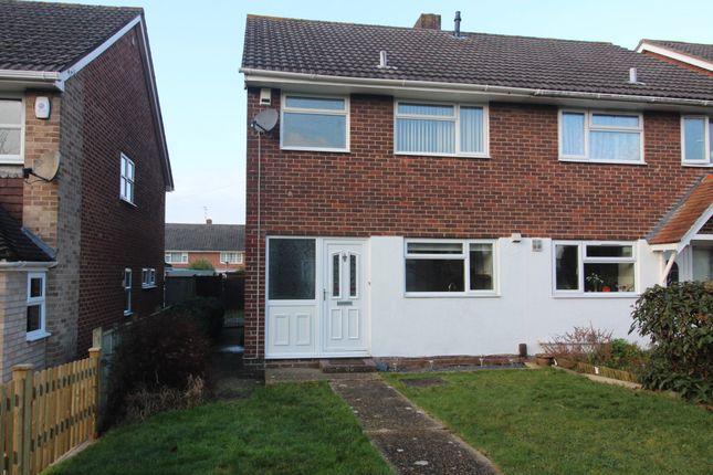 Thumbnail Semi-detached house to rent in Trent Walk, Fareham