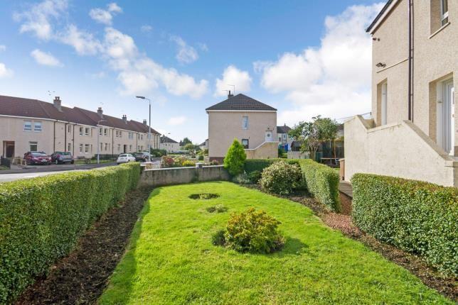 Garden of Netherhill Crescent, Paisley, Renfrewshire, . PA3