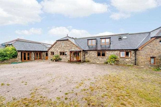 Thumbnail Detached house for sale in Higher Lowton Farm, Bondleigh, North Tawton