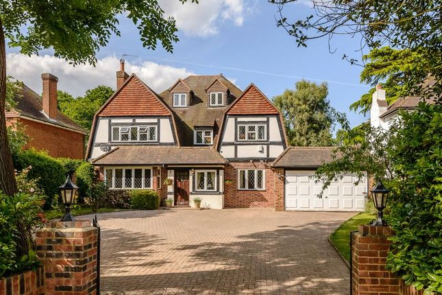 Thumbnail Detached house for sale in Tite Hill, Englefield Green, Egham
