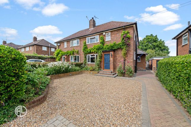 Thumbnail Semi-detached house for sale in Haselfoot, Letchworth Garden City