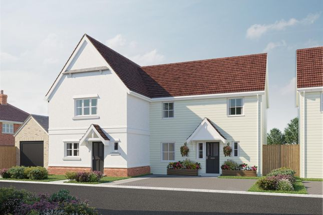 Thumbnail Semi-detached house for sale in The Marigold, Plot 17, Latchingdon Park, Latchingdon