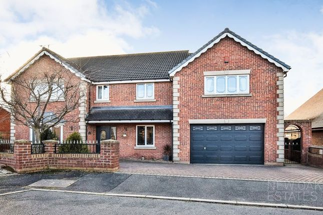 Thumbnail Detached house for sale in Redbrook Avenue, Hasland, Chesterfield
