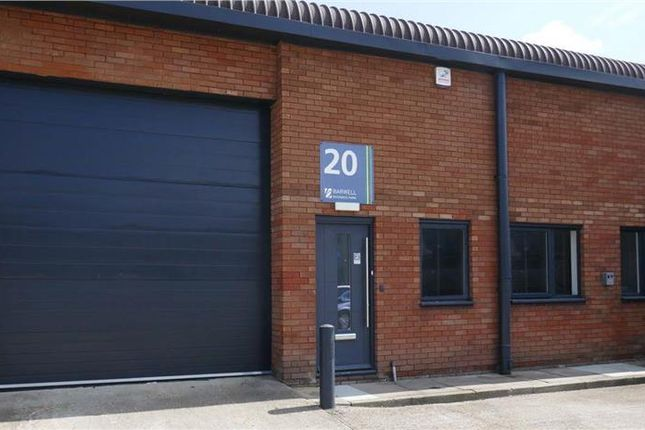 Thumbnail Industrial to let in Unit 20, Barwell Business Park, Leatherhead Road, Chessington, Surrey