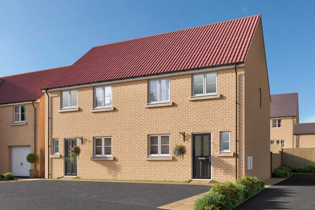 "3 bedroom semi-detached house for sale in ""The Eveleigh"" at The Boulevard, Eastfield, Scarborough"