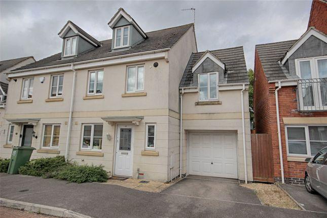 Thumbnail Semi-detached house for sale in Rosebay Gardens, Cheltenham, Gloucestershire