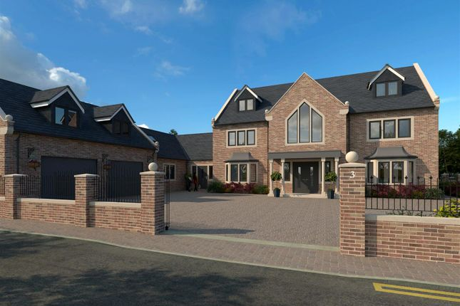 Thumbnail Detached house for sale in Barnby Moor, Retford