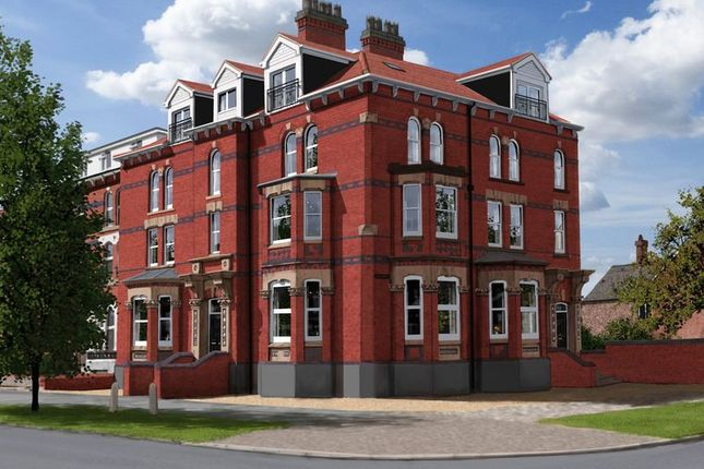 Thumbnail Flat for sale in Penthouse Apartment 11, Masonic Hall, Rutland Road, Skegness