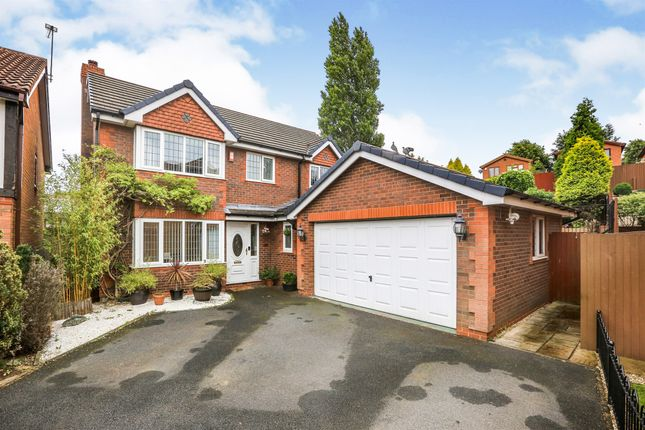 Thumbnail Detached house for sale in Nicholds Close, Coseley, Bilston