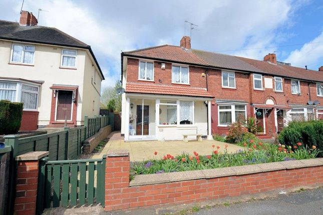 Thumbnail End terrace house for sale in Mansion Crescent, Bearwood, Smethwick