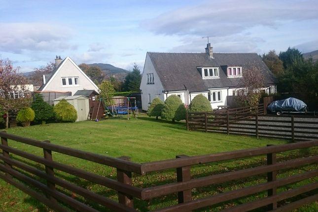 Thumbnail Semi-detached house for sale in 4 Riochan, Inveraray