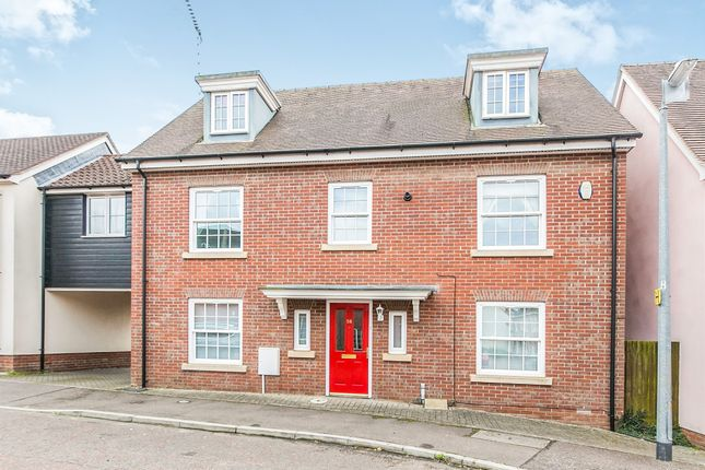 Thumbnail Link-detached house for sale in Dickenson Road, Colchester
