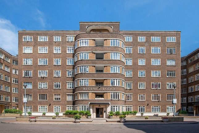 Thumbnail Flat to rent in Regency Lodge, Adelaide Road, London