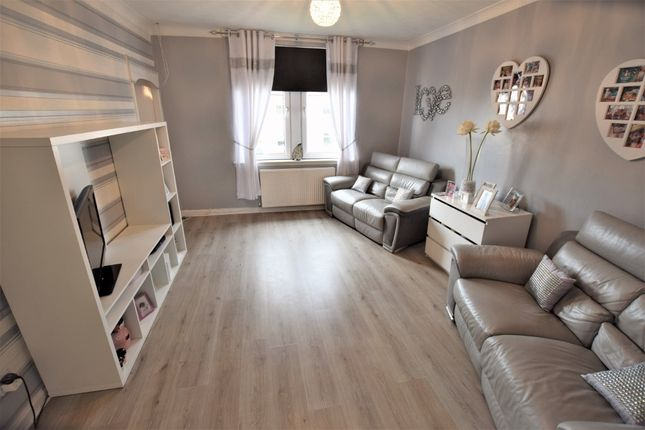 Thumbnail Flat for sale in Burnhall Place, Wishaw