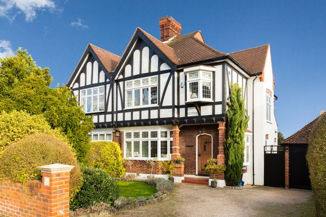 Thumbnail Semi-detached house for sale in Malvern Drive, Woodford Green