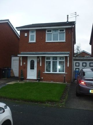 Thumbnail Detached house to rent in Ogle Close, Prescot, Liverpool
