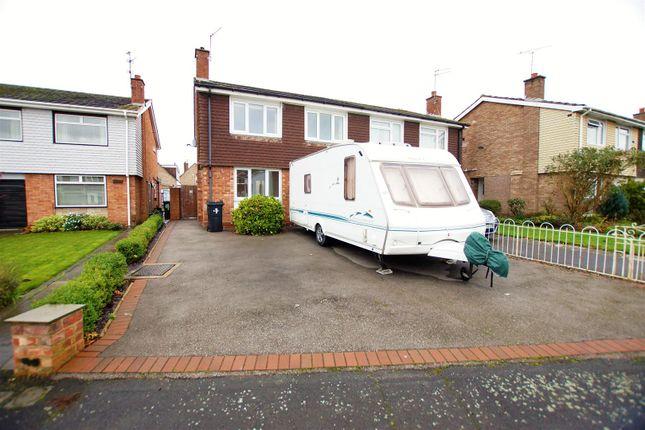 3 bed semi-detached house to rent in Ellerton Avenue, Little Sutton CH66