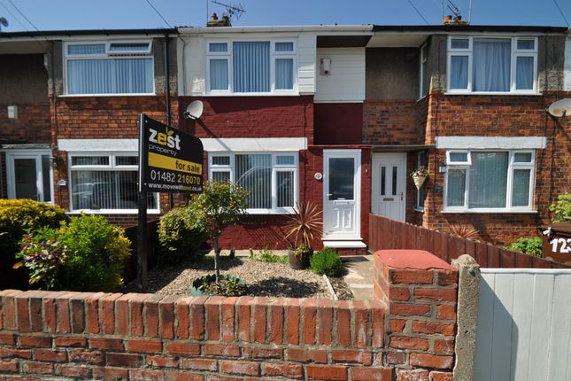 Terraced house for sale in Manor Road, Hull, Yorkshire
