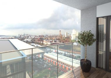 Thumbnail Flat for sale in Herculaneum Quay Riverside Drive, Liverpool