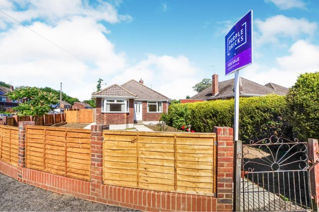 Thumbnail Detached bungalow for sale in Megan Road, West End, Southampton