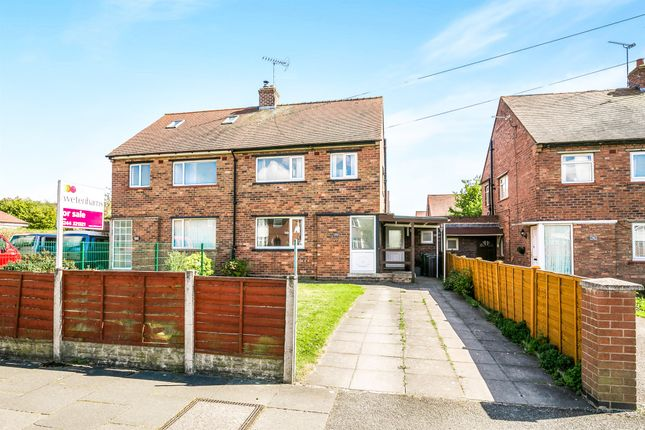 Thumbnail Semi-detached house for sale in Hoole Lane, Hoole, Chester