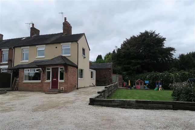 Thumbnail End terrace house for sale in Windy Arbour, Cheadle, Stoke-On-Trent