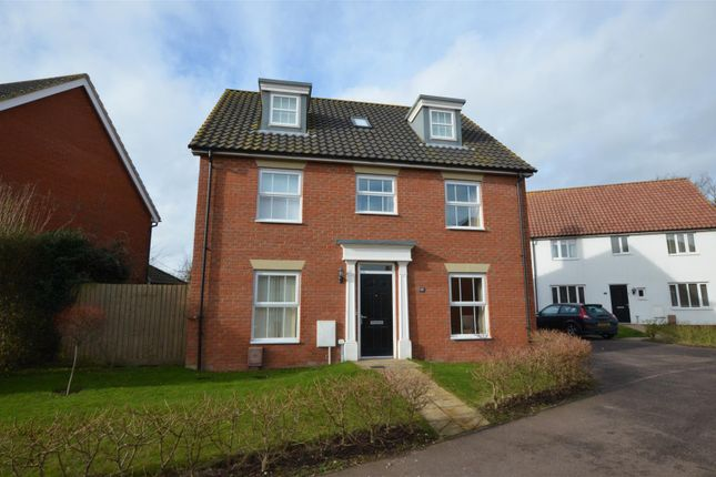 Thumbnail Detached house for sale in Lime Tree Avenue, Long Stratton, Norwich