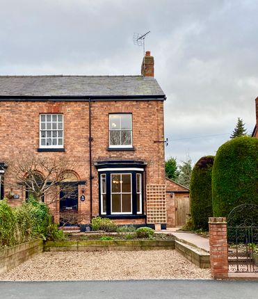 Thumbnail Semi-detached house for sale in London Road, Nantwich