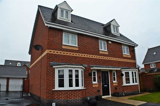 Thumbnail Detached house for sale in Baltimore Gardens, Chapelford, Warrington