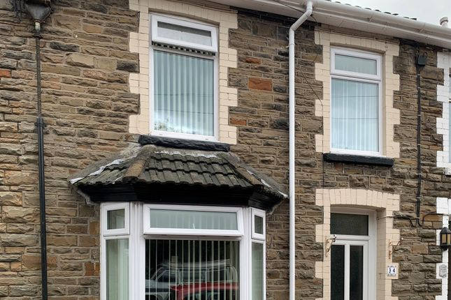 Thumbnail Terraced house for sale in Wern Crescent, Nelson, Treharris