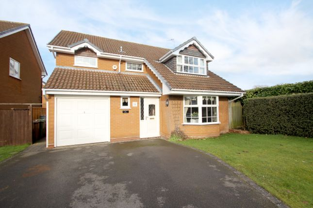 Thumbnail Detached house for sale in Asbury Road, Balsall Common, Coventry