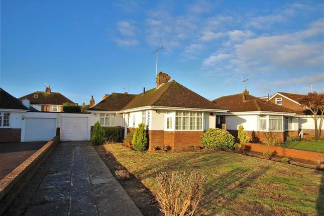 Thumbnail Detached bungalow for sale in Nutley Crescent, Goring-By-Sea, Worthing, West Sussex