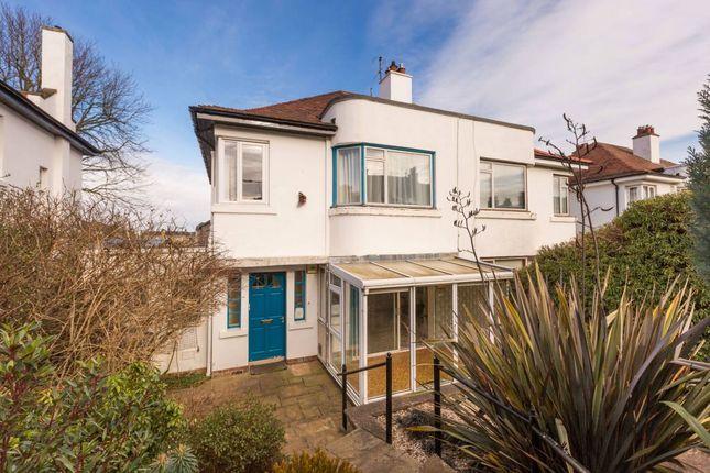 Thumbnail Semi-detached house for sale in 120 Morningside Drive, Edinburgh